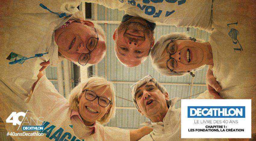 #40ansDecathlon : innovation et famille au service des sportifs
