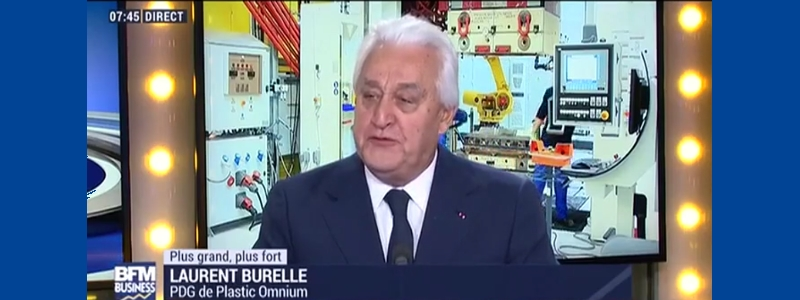 Comment expliquer la pérennité de Plastic Omnium ? Laurent Burelle