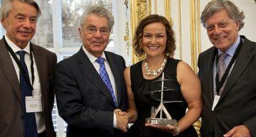 Remise du 7ème Prix Léonard de Vinci à Swarovski