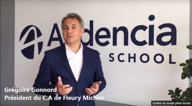Fleury Michon se réengage à Audencia Business School pour 4 ans